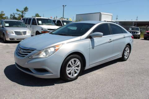2011 Hyundai Sonata for sale at Jamrock Auto Sales of Panama City in Panama City FL
