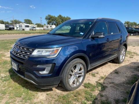 2017 Ford Explorer for sale at Bulldog Motor Company in Borger TX