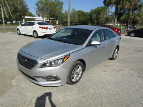 2015 Hyundai Sonata for sale at S & T Motors in Hernando FL
