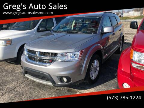 2016 Dodge Journey for sale at Greg's Auto Sales in Poplar Bluff MO