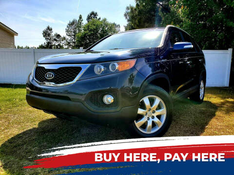 2012 Kia Sorento for sale at Real Deals of Florence, LLC in Effingham SC