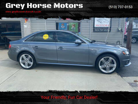 2012 Audi A4 for sale at Grey Horse Motors in Hamilton OH