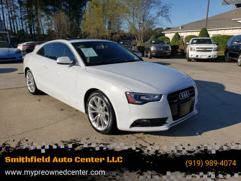 2013 Audi A5 for sale at Smithfield Auto Center LLC in Smithfield NC