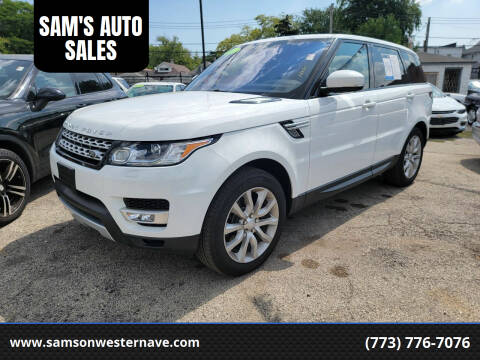 2017 Land Rover Range Rover Sport for sale at SAM'S AUTO SALES in Chicago IL