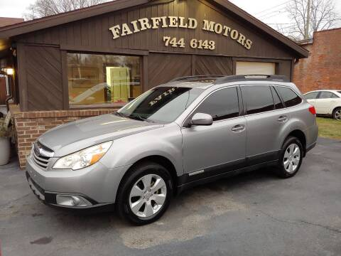 2011 Subaru Outback for sale at Fairfield Motors in Fort Wayne IN