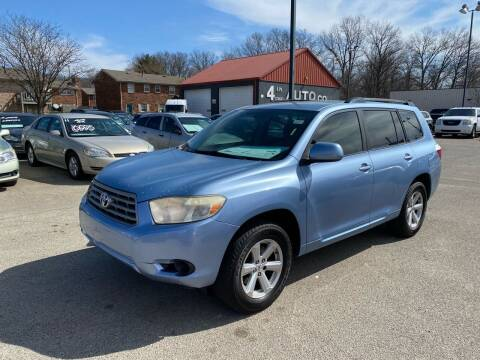 2008 Toyota Highlander for sale at 4th Street Auto in Louisville KY