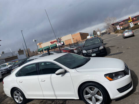 2012 Volkswagen Passat for sale at Sanaa Auto Sales LLC in Denver CO