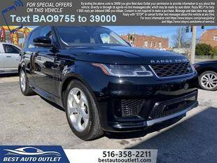 2020 Land Rover Range Rover Sport for sale at Best Auto Outlet in Floral Park NY