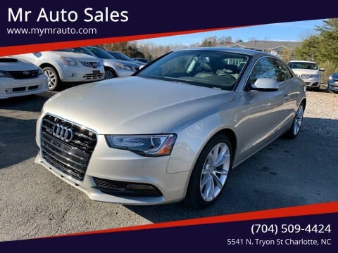 2014 Audi A5 for sale at Mr Auto Sales in Charlotte NC