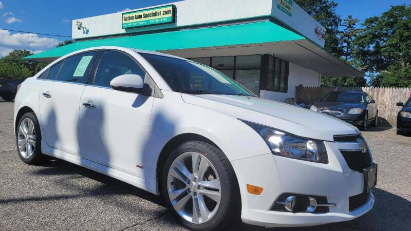2014 Chevrolet Cruze for sale at Action Auto Specialist in Norfolk VA