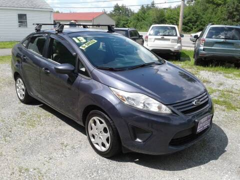 2013 Ford Fiesta for sale at Quest Auto Outlet in Chichester NH