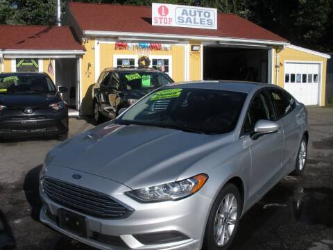 2017 Ford Fusion for sale at One Stop Auto Sales in North Attleboro MA