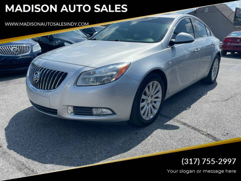 2011 Buick Regal for sale at MADISON AUTO SALES in Indianapolis IN