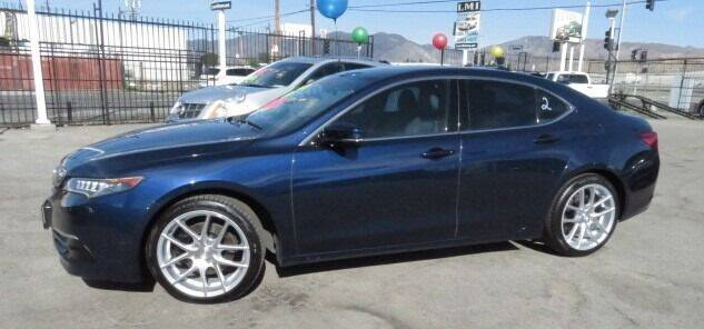 2015 Acura TLX for sale at Luxor Motors Inc in Pacoima CA