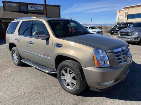 2007 Cadillac Escalade for sale at BERKENKOTTER MOTORS in Brighton CO