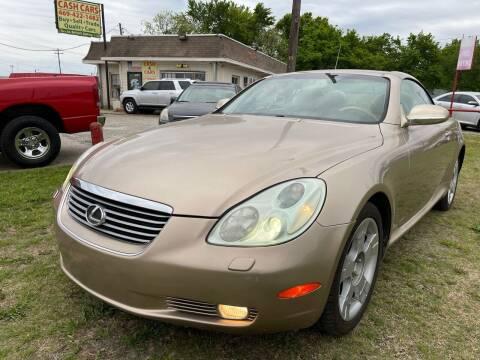 2005 Lexus SC 430 for sale at Texas Select Autos LLC in Mckinney TX