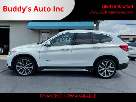 2017 BMW X1 for sale at Buddy's Auto Inc in Pendleton, SC
