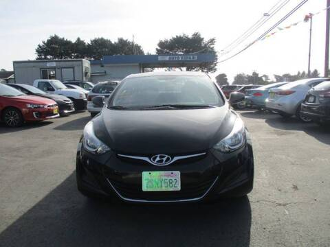 2016 Hyundai Elantra for sale at HARE CREEK AUTOMOTIVE in Fort Bragg CA