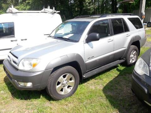 2003 Toyota 4Runner for sale at Ray's Auto Sales in Elmer NJ