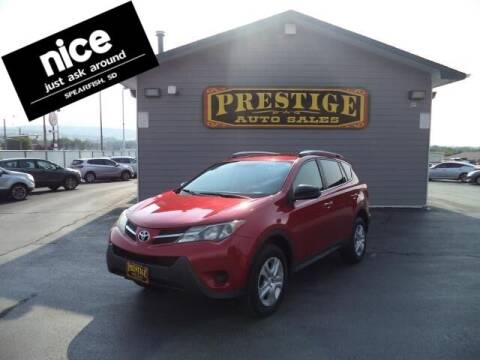 2014 Toyota RAV4 for sale at PRESTIGE AUTO SALES in Spearfish SD