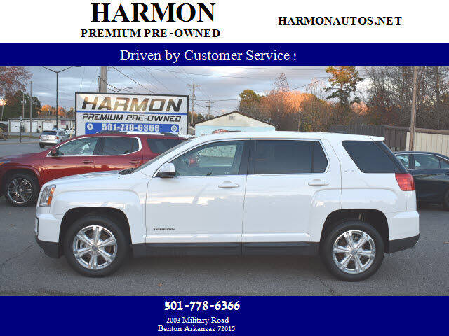 2017 GMC Terrain for sale at Harmon Premium Pre-Owned in Benton AR