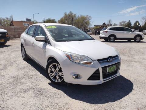 2012 Ford Focus for sale at Canyon View Auto Sales in Cedar City UT