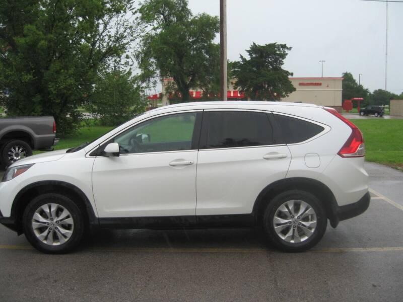 2013 Honda CR-V for sale at Jim Tawney Auto Center Inc in Ottawa KS