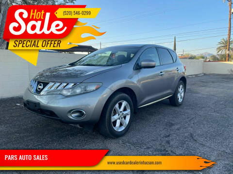 2010 Nissan Murano for sale at PARS AUTO SALES in Tucson AZ