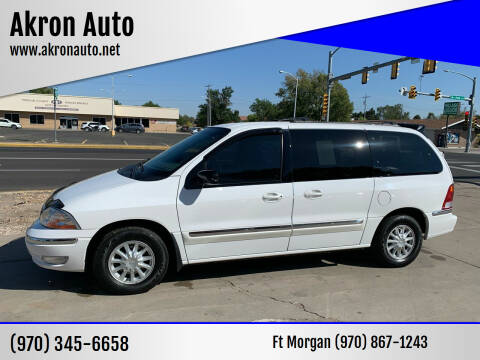 2000 Ford Windstar for sale at Akron Auto - Fort Morgan in Fort Morgan CO