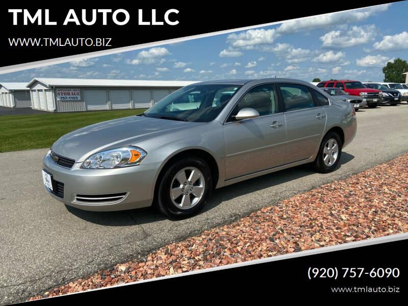 2008 Chevrolet Impala for sale at TML AUTO LLC in Appleton WI