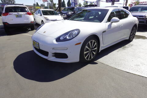 2015 Porsche Panamera for sale at CARSTER in Huntington Beach CA