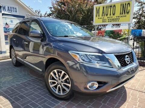 2013 Nissan Pathfinder for sale at M AUTO, INC in Millcreek UT