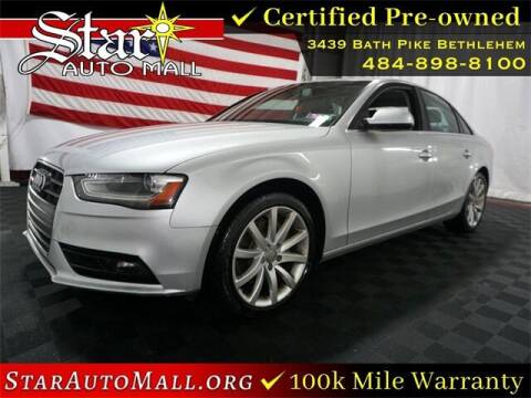 2013 Audi A4 for sale at STAR AUTO MALL 512 in Bethlehem PA
