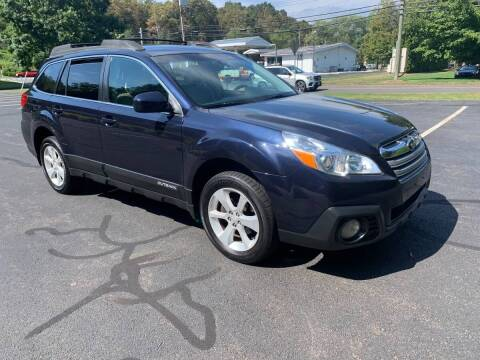 2013 Subaru Outback for sale at Volpe Preowned in North Branford CT