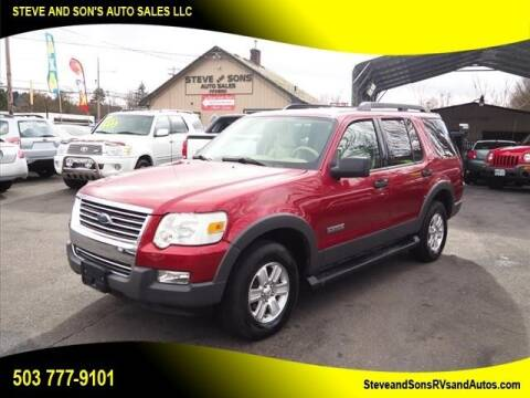 2006 Ford Explorer for sale at Steve & Sons Auto Sales in Happy Valley OR