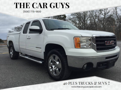2011 GMC Sierra 1500 for sale at The Car Guys in Hyannis MA