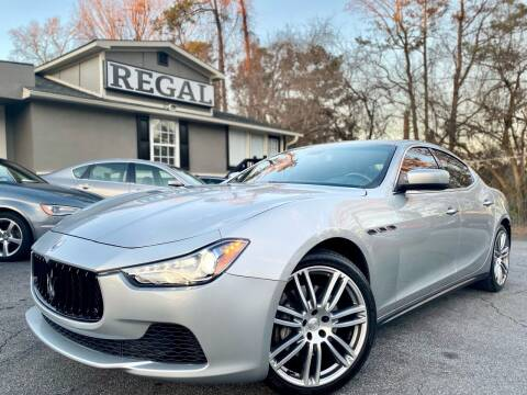 2014 Maserati Ghibli for sale at Regal Auto Sales in Marietta GA
