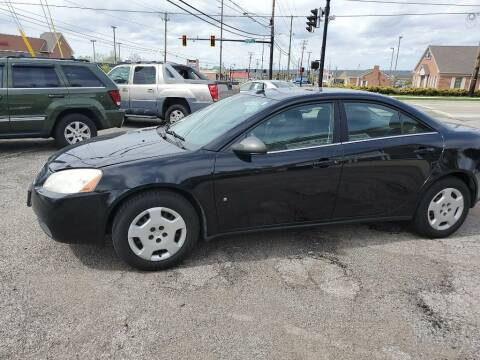 2008 Pontiac G6 for sale at Towne Auto Sales in Medina OH