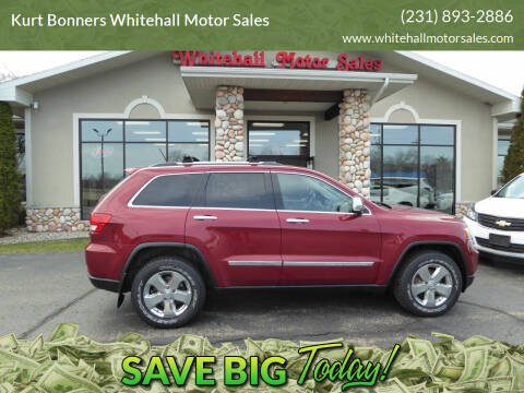 2012 Jeep Grand Cherokee for sale at Kurt Bonners Whitehall Motor Sales in Whitehall MI