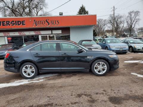 2014 Ford Taurus for sale at RIVERSIDE AUTO SALES in Sioux City IA