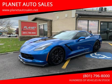 2014 Chevrolet Corvette for sale at PLANET AUTO SALES in Lindon UT