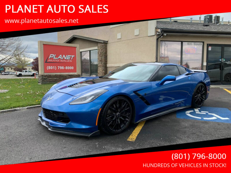 2014 Chevrolet Corvette for sale at PLANET AUTO SALES in Lindon UT