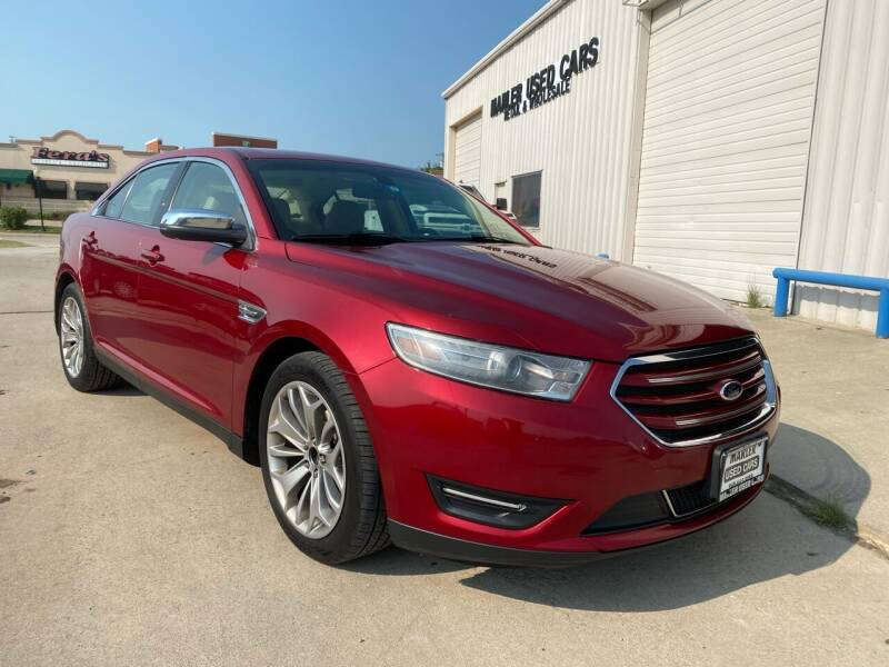 2013 Ford Taurus for sale at MARLER USED CARS in Gainesville TX