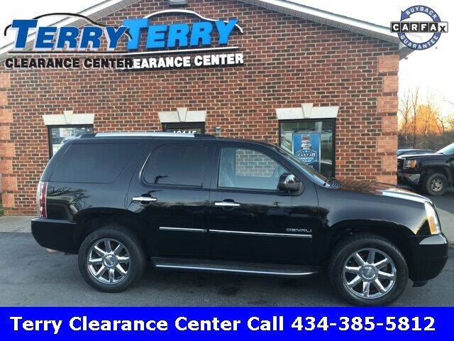 2014 GMC Yukon for sale at Terry Clearance Center in Lynchburg VA