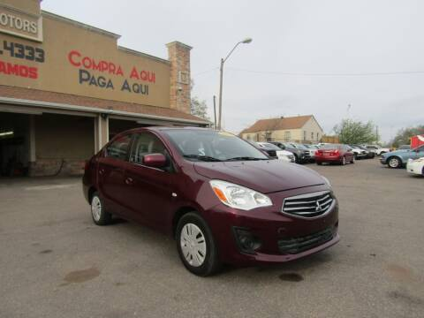 2017 Mitsubishi Mirage G4 for sale at Import Motors in Bethany OK