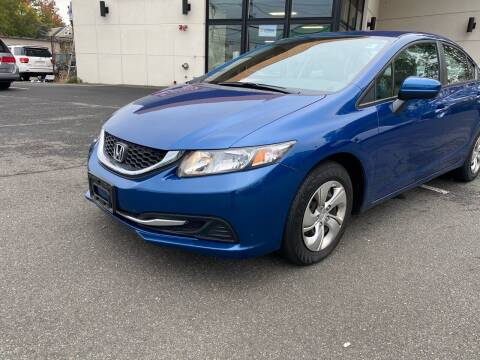 2015 Honda Civic for sale at MAGIC AUTO SALES in Little Ferry NJ