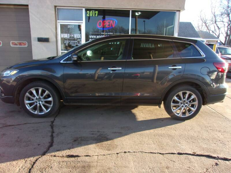 2014 Mazda CX-9 for sale at World Wide Automotive in Sioux Falls SD