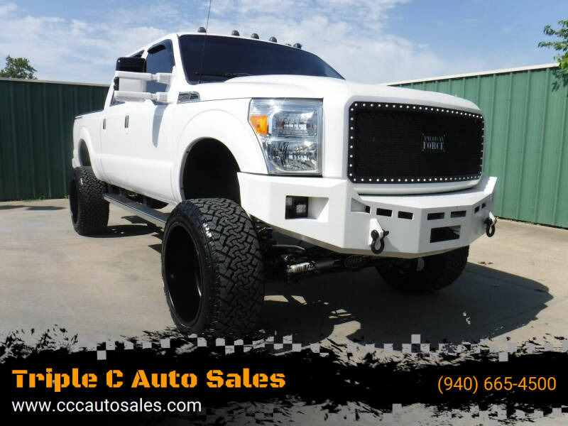 2016 Ford F-250 Super Duty for sale at Triple C Auto Sales in Gainesville TX