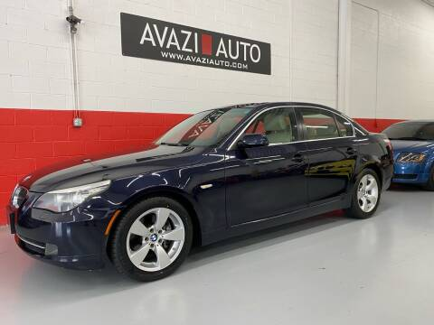 2008 BMW 5 Series for sale at AVAZI AUTO GROUP LLC in Gaithersburg MD