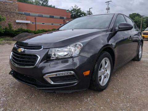 2015 Chevrolet Cruze for sale at DILLON LAKE MOTORS LLC in Zanesville OH